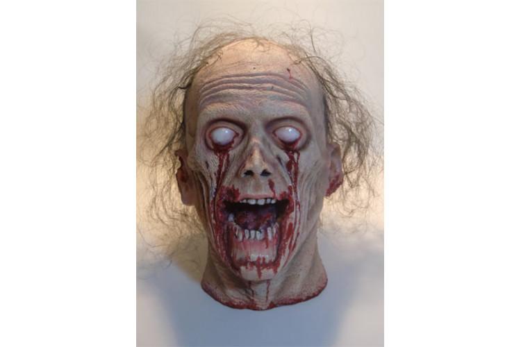 Tête de zombie décapitée deluxe