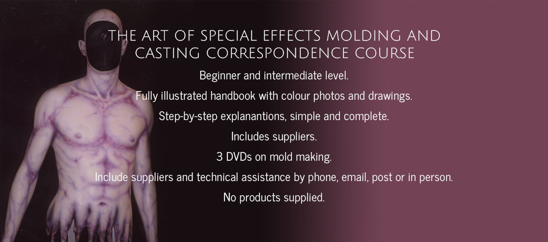 FX Basic 2: The art of special effects molding and casting correspondence course