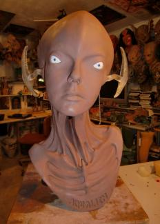 Aqualien. Private project. Sculpture.